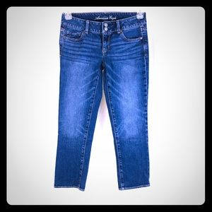 AMERICAN EAGLE Artist Cropped Skinny Jeans 4